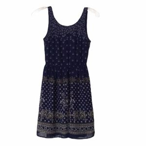 Divided Bandana Print Dress